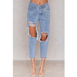 Passion Fusion Distressed Boyjean